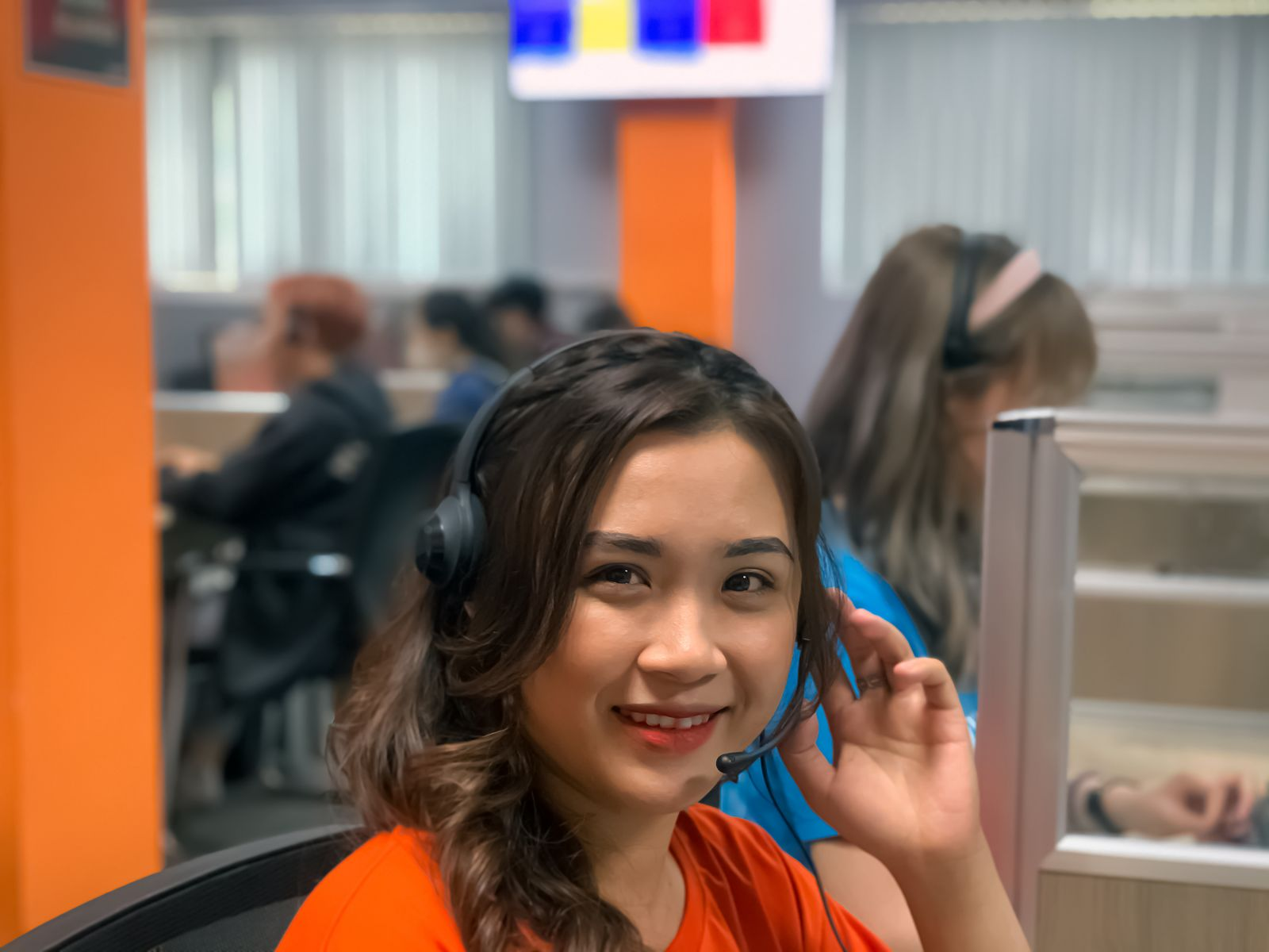 telesales agents in Call center